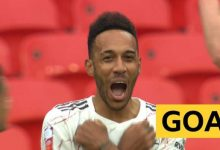 Photo of FA Community Shield: Pierre-Emerick Aubameyang donne l'avance à Arsenal contre Liverpool avec un but brillant