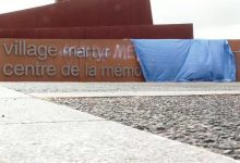 Photo of Des graffitis niant l'Holocauste ont été trouvés sur un site de massacre en France