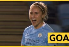 Photo of Coupe FA féminine: le capitaine de Man City, Steph Houghton, marque un coup franc contre Arsenal