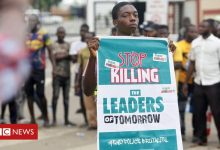 Photo of Les manifestations de End Sars au Nigeria, en images