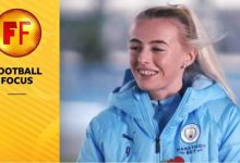 "Photo of Chloe Kelly de Man City face à l'ancien club Everton lors d'une "" étrange "" finale de la FA Cup"