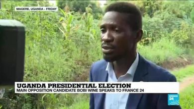 Photo of Présidentielle ougandaise: le principal candidat de l'opposition Bobi Wine s'adresse à France 24