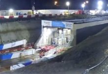 Photo of East Coast Main Line: tunnel minutieusement poussé sous terre