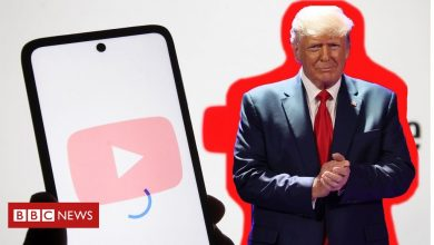Photo of YouTube va lever l'interdiction de Trump si la menace de violence tombe, déclare le PDG
